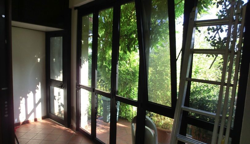 Veranda piano seminterrato