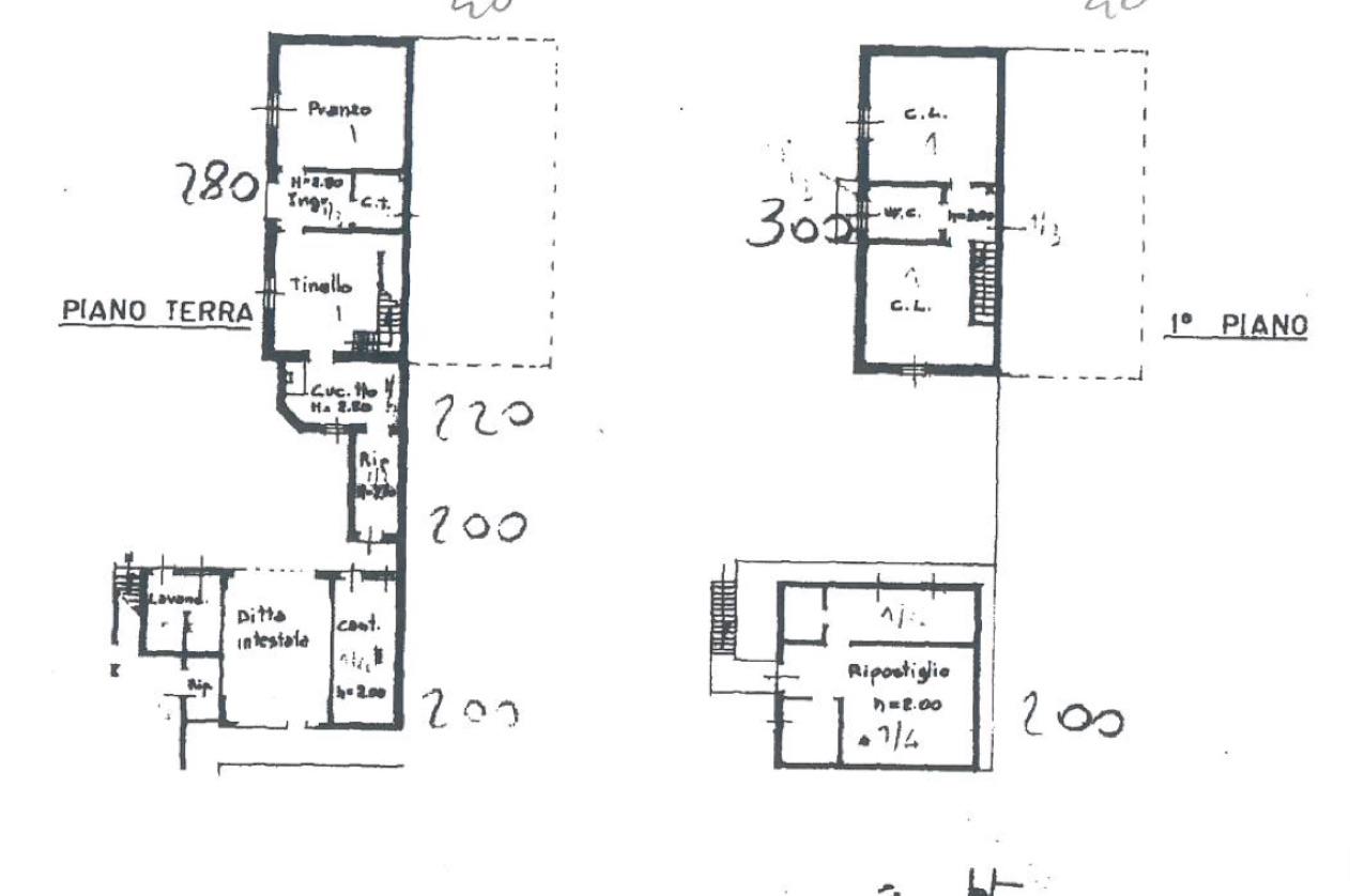 Planimetria Alloggio e servizi