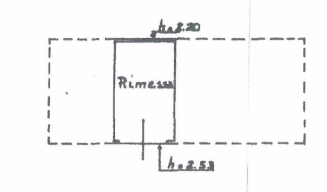 Planimetria secondo garage