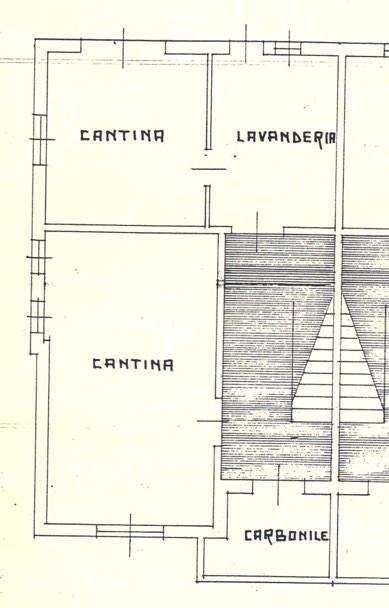 Planimetria Alloggio piano seminterrato