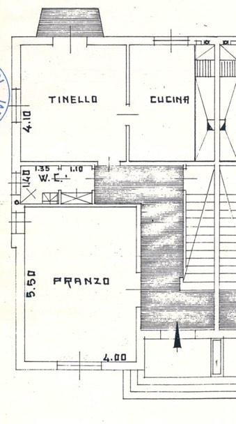 Planimetria Alloggio piano rialzato