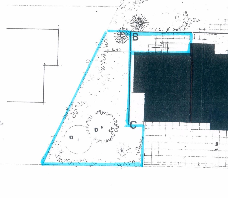 Planimetria giardino