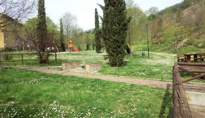 Parco adiacente casa