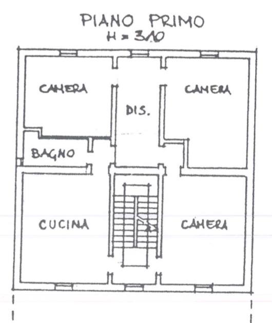 Planimetria Alloggio