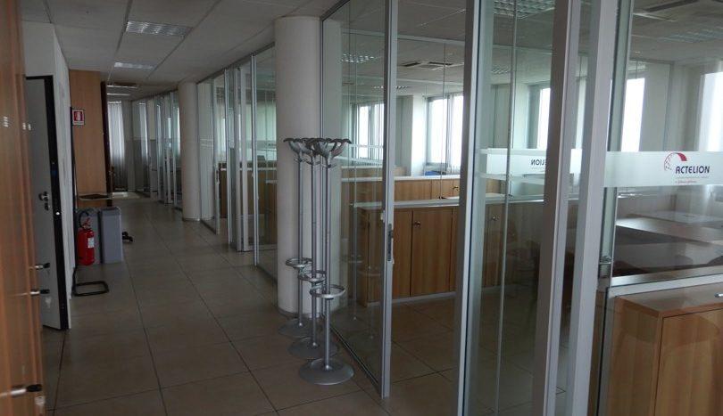 Ufficio diviso