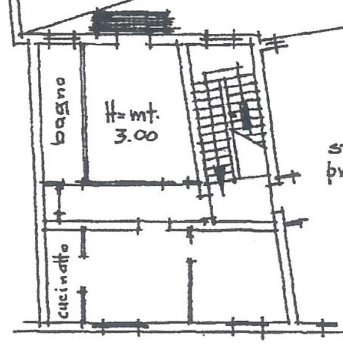Planimetria Piano secondo Sx